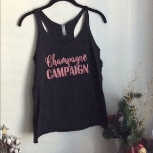 Champagne Muscle Tee/Tank